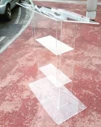 Púlpito em Acrílico Cristal 8mm