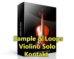 Studio Solo Violin Livraria de Sample para Kontakt