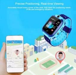 Título do anúncio: Relogio Smartwatch Kids Infantil Sos Gps Camera Rastreador