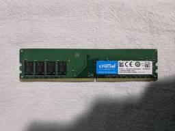 Memória DDR4 4gb 2666Mhz cL19