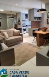 Apartamento para venda com 40 metros quadrados com 2 quartos em Jardim das Palmeiras - Cui