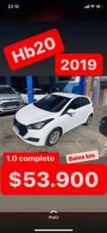 Hyundai HB20 FLEX Tanque cheio + Transferência