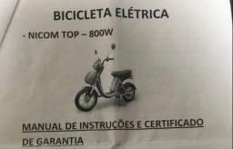 moto elétrica / bike elétrica 800 watts