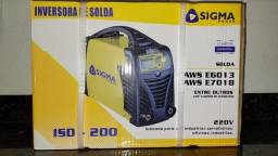 Título do anúncio: Máquina De Solda Inversora ISD 200 Sigma