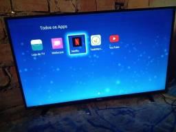 Tv smart 43 polegadas C/ tela tremendo