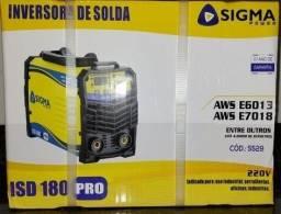 Título do anúncio: Máquina De Solda Inversora ISD 180 Sigma PRO