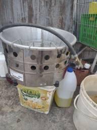 Título do anúncio: Vendo Máquina de Fritar Batata,Pastel Etc