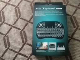 Título do anúncio: Controle remoto teclado QWERTY novo