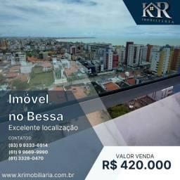 Título do anúncio: Apartamento com 3 dormitórios à venda, 82 m² por R$ 420.000,00 - Bessa - João Pessoa/PB