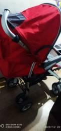 Carrinho e cadeirinha bebê conforto