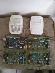 Placas de sistema de alarme viaweb