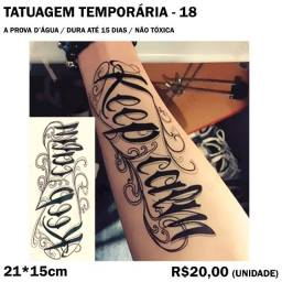 Tatuagem temporária - Keep Calm
