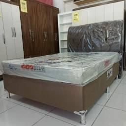 CAMA BOX CASAL apenas 990,00! IMPERDÍVEL