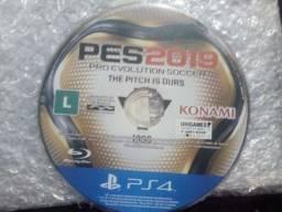 PES 2019 para PS4, apenas CD