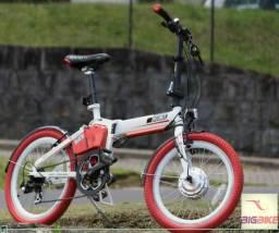 Bicicleta Elétrica Dobrável E-smart