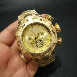 Relógio Invicta Zeus Bolt Dourado