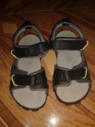 Sandália pé com pé infantil nova