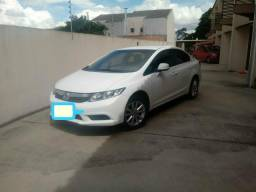 Honda Civic Sedan LXS 1.8 Flex 16V Aut. 4p 2014 Branco - 2014