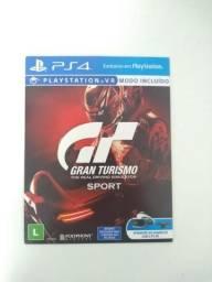 Jogo oficial Gran Turismo Sport para PS4 em excelente estado
