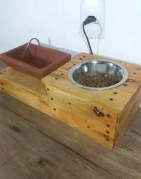 Fonte para gatos e cachorros artesanal