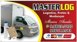 Masterlog logistica,fretes e mudanças