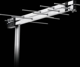 Instalação de antena digital