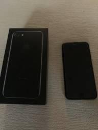 Iphone 7 128gb preto brilhante