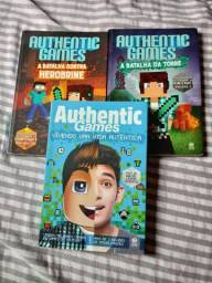 Livros Minecraft e Authentic