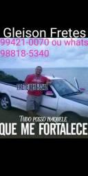 Fretes viagens e mudanças para todo Brasil Gleison Fretes 9.9421.0070 ou 9.8818.5340
