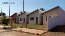 Casa com 2 dormitórios à venda, 54 m² por r$ 75.000 - cidade nova - pederneiras/sp