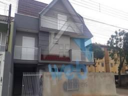 Magnífico sobrado triplex de esquina no bairro Sitio Cercado, 03 quartos com suítes, 124 m