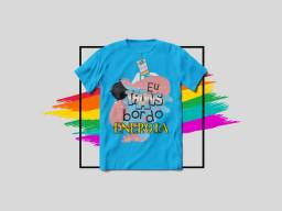 Camisa Eu TRANSbordo Energia LGBTQ