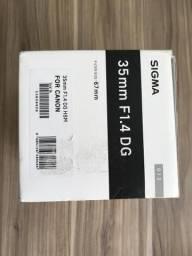Usado, Sigma art 35mm Nova para Canon comprar usado  Contagem