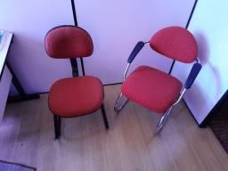 5 cadeiras de escritório