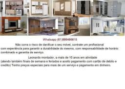 Montador de móveis (VALPARAÍSO, Cel azul e novo gama *