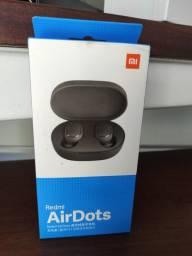 Inacreditável//Air Dots da Xiaomi// Novo Lacrado com Garantia e Entrega
