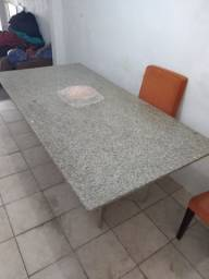 Mesa de jantar no  granito (2,10mt x 1,25mt)