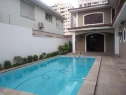 Casa à venda com 4 dormitórios em Ponta da praia, Santos cod:124472