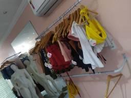 Vendo estoque de loja de roupas femininas Completo