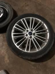 Roda Fusion titanium aro 18
