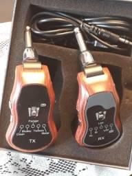 Transmissor e Receptor Wireless pra Guitarra e Violao - sem uso