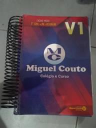 Livros/Apostilas 3° ano ensino médio Miguel Couto