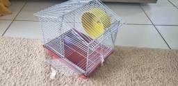 Gaiola para hamster.