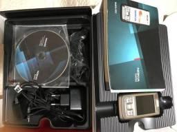 Celular Nokia de couro!