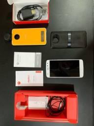 Celular Moto Z2 Novo Snap Câmera 360 e JBL