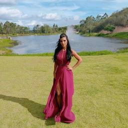 Vestido de luxo Adri Kim