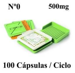 Encapsuladora Manual para 100 cápsulas por ciclo (Importada)