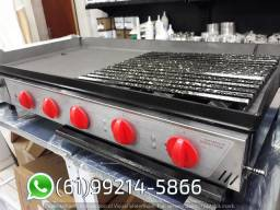 Char Broiler 100x50 cm Prcb 210 Style Progás Industrial a gás