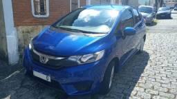 Honda Fit Azul Automático- aceito troca menor valor