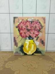 Quadro decorativo de flores